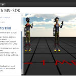 Kinect v2でユニティちゃんを動かす(Kinect v2withMS-SDKアセット)