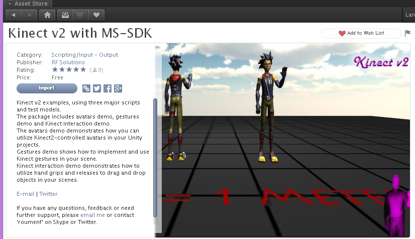 Kinect v2 with MS-SDK