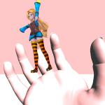 Final IKアセットでキャラクターのぶら下げ方(Unity)