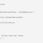 UnityでRenderTextureをファイルに保存
